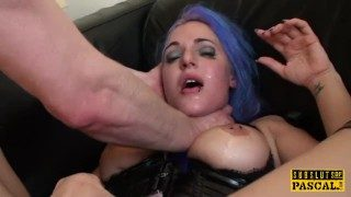 English Whore Analized When Throating Toycock